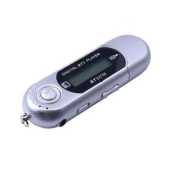 Understøttelse af digital LCD-skærm i Usb Mp3 Music Player 32g Tf Card Radio med Fm