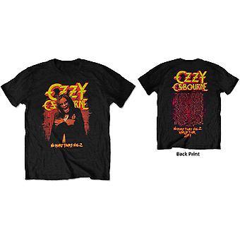 Ozzy Osbourne - No More Tears Vol. 2. Men's Small T-Shirt - Black