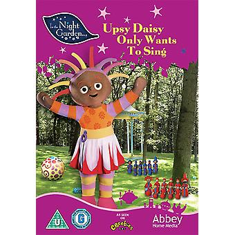 In The Night Garden - Upsy Daisy Only Wants To Sing DVD