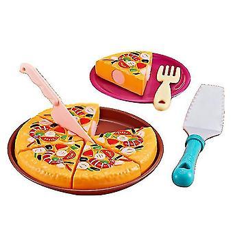 Pizza kids kitchen pizza seafood toy set dt5206