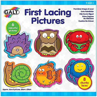 First Lacing Pictures Play & Learn Toy