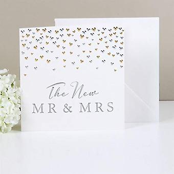 AMORE BY JULIANA? Deluxe Card - The New Mr & Mrs