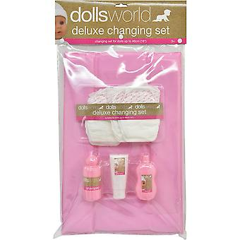 Dolls World Deluxe Doll Changing Set