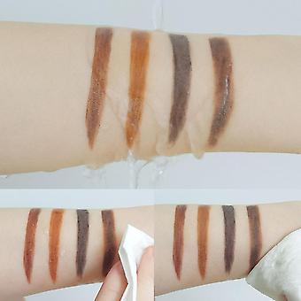 Waterproof Gel Powder Make Up Double Color Air Cushion Eyebrow Cream