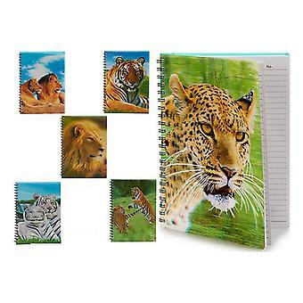 Cuaderno Animales A4