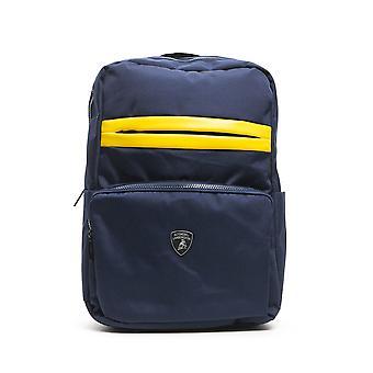 Lamborghini blu navy backpack