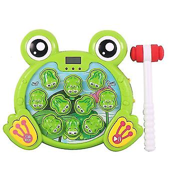 Whack A Frog Game, giocattolo martellante interattivo per l'apprendimento iniziale dello sviluppo