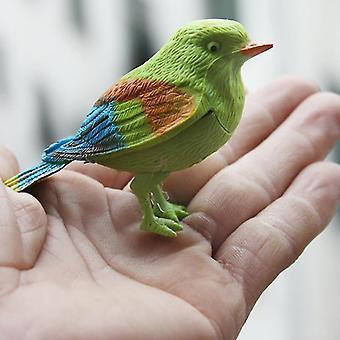 الروبوتية اللعب التفاعلية المحاكاة الإلكترونية لطيف الغناء الطيور التعليمية