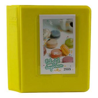 Fujifilm Instax Mini 7s/8/9 Photo Album(Yellow)