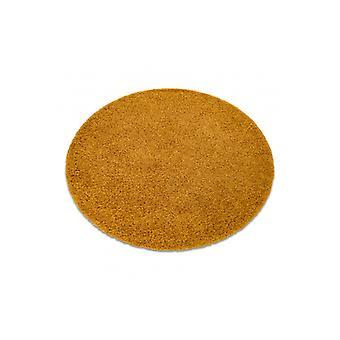 البساط SOFFI دائرة أشعث 5cm الذهب