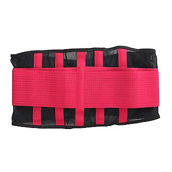 Sport waist trainer belt breathable lumbar lower back support