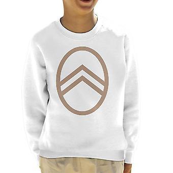 Citroen Vintage Badge Logo Kid's Sweatshirt
