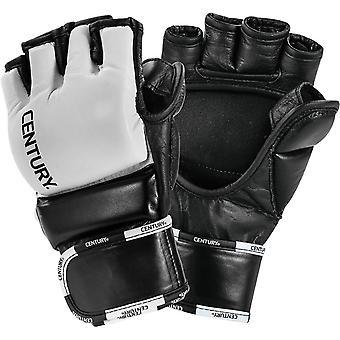 Century Creed Open Palm Wrist Wrap MMA Training Gloves  - Black/White