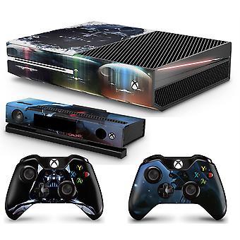 Adesivo per skin per console DV GNG + 2 skin per controller compatibili con Xbox One e Kinect