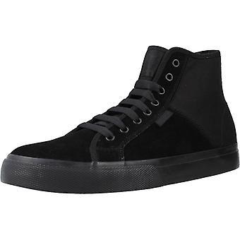 Dc Sport / Chaussures Manuel Hi Le Color Black
