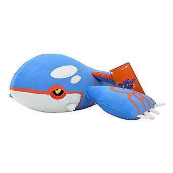 Hardware glue adhesives kyogre pokemon plush doll toy 25cm children christmas gift