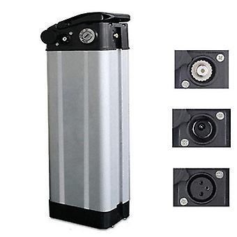Elektrofahrrad Kunststoff Lithium Batterie Box 36v / 48v / 60v große Kapazität 18650 Halter Fall Fahrrad