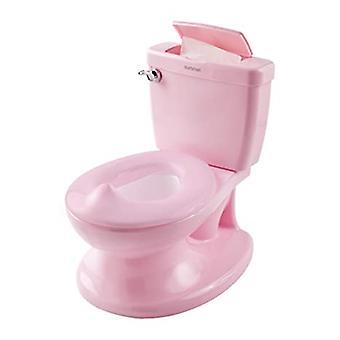 Realistische Töpfchen Training Toilette sieht aus und fühlt sich an wie eine Erwachsenentoilette