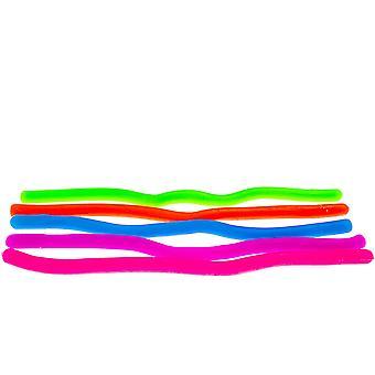 伸縮性のあるストリングフィゲット/感覚玩具(bpa/フタル酸エステル/ラテックス)の5パック