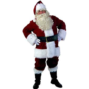 Christmas Cosplay Male Santa Claus Uniform New Year Party Performance Costume