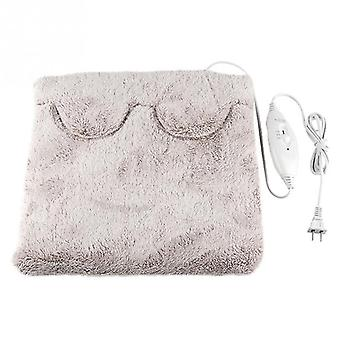 Electric Foot Warmer Heating Pad Slippers Chaussures Coussin chaud