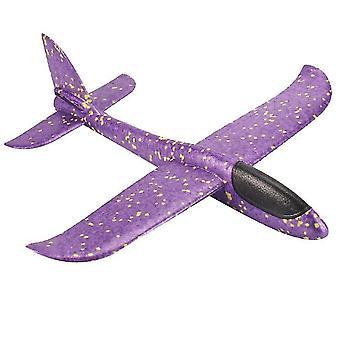 Flugzeugspielzeug für Kinder, Fliegende Flugzeuge für Jungen Mädchen (lila)