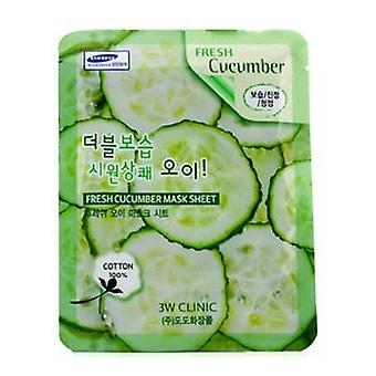 Masker blad - verse komkommer - 10st