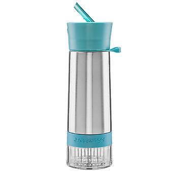 Zing alles andere Aqua Zinger Geschmack Infuser Wasserflasche - blau