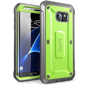 Galaxy S7 Edge Case, SUPCASE, Unicorn Beetle PRO Series, Galaxy S7 Edge,Galaxy Case, S7 Edge, S7 Edge -Green/Gray