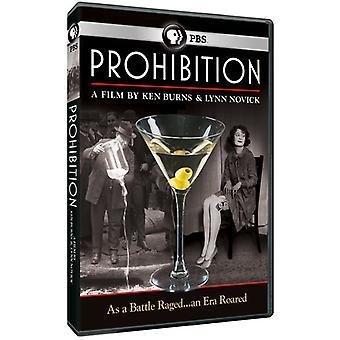Ken Burns: 禁止 [DVD] USA 輸入