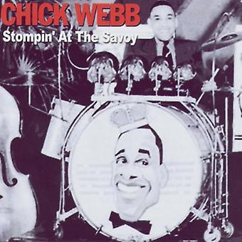 Chick Webb - Stompin' på Savoy [CD] USA import