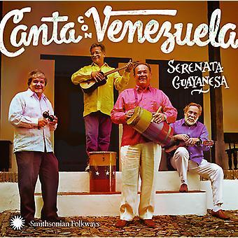 セレナータ Guayanesa - カンタ コン ベネズエラ ベネズエラ [CD] USA 輸入で歌う