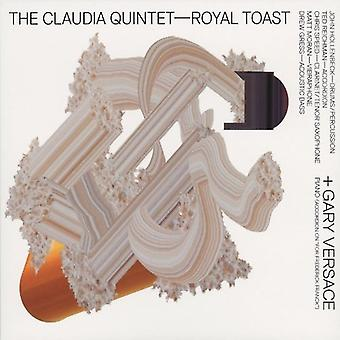 Claudia Quintet with Gary Versace - Royal Toast [CD] USA import