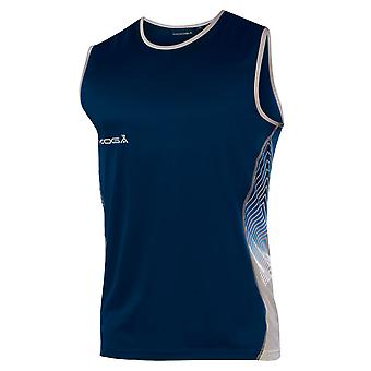 KOOGA rugby training muscle vest [navy/grey]