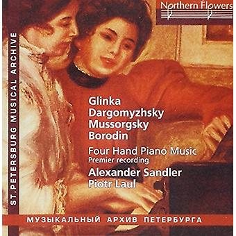 Laul / Sandler - Russian Music for Piano Duet [CD] USA import