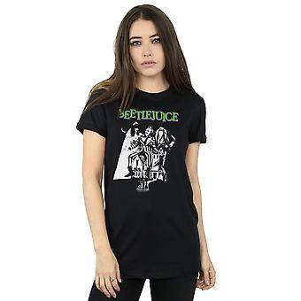 甲壳虫女人\apos;单声道海报男友适合T恤