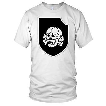 Waffen SS 3 SS Panzer divisjon Totenkopf ren Mens T-skjorte