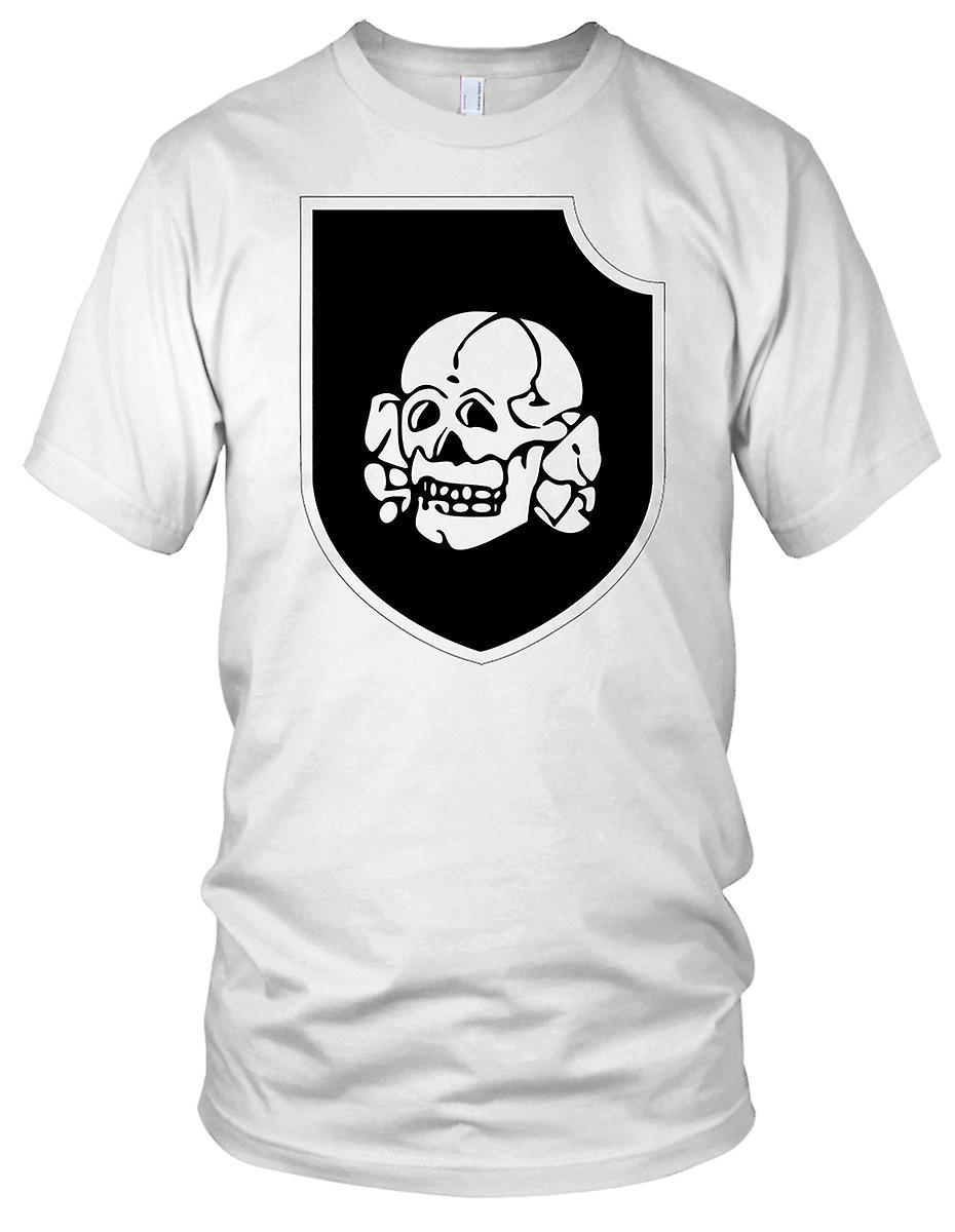 Waffen ss 3rd ss panzer division totenkopf clean kids t shirt
