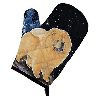 Carolines Treasures  SS8454OVMT Starry Night Chow Chow Oven Mitt