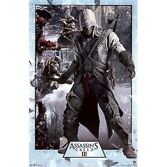 Assassins Creed 3 - Collage Poster Poster Print