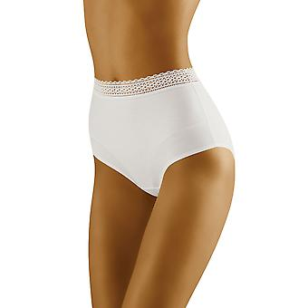 Wolbar Women's Eco-Go White Full Panty Highwaist Brief