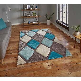 Noble House 9247  Grey Blue  Rectangle Rugs Plain/Nearly Plain Rugs