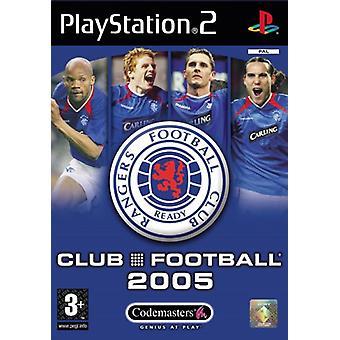 Club Football Rangers 2005 (PS2) - Ny fabrik forseglet