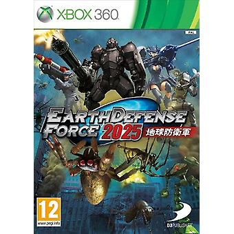 Earth Defence Force 2025 (Xbox 360) - Nouveau