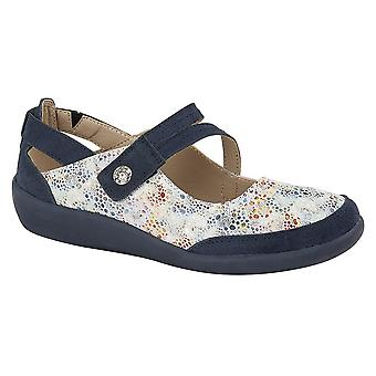 Boulevard Womens/Ladies E Fit Leather/Suede Shoes