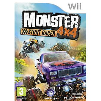 Monster 4x4 Stuntrace - Game Only (Wii) - New