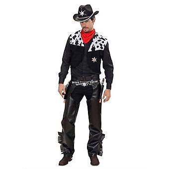 Costume de Cowboy - noir