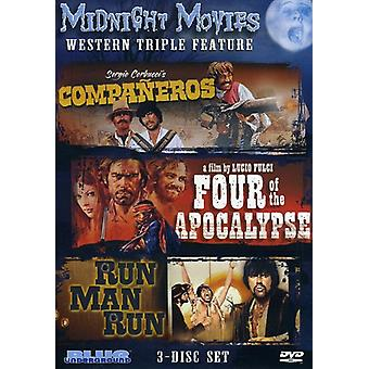 Midnight Movies - Midnight Movies: Vol. 2-Western Triple Feature [DVD] USA import