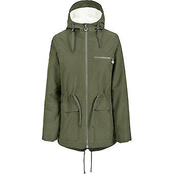 Overtredelse kvinners/damer alltid vanntett pustende polstret jakke