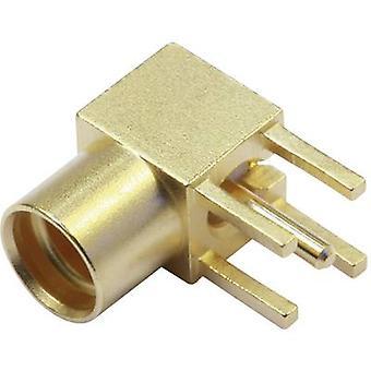 Telegärtner J01341A0031 MMCX connector Socket, horizontal mount 50 Ω 1 pc(s)